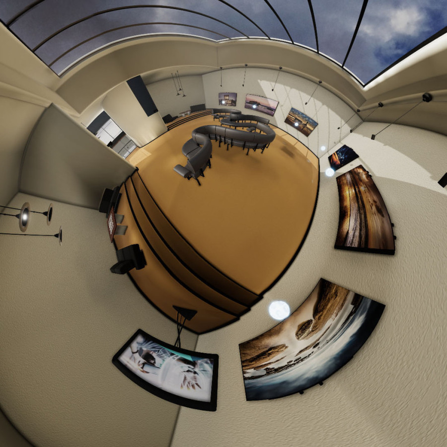 VR-Applikation, 360° Rendering Galerie
