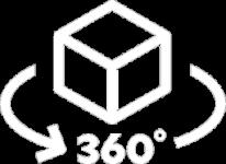 360° Rendering Icon