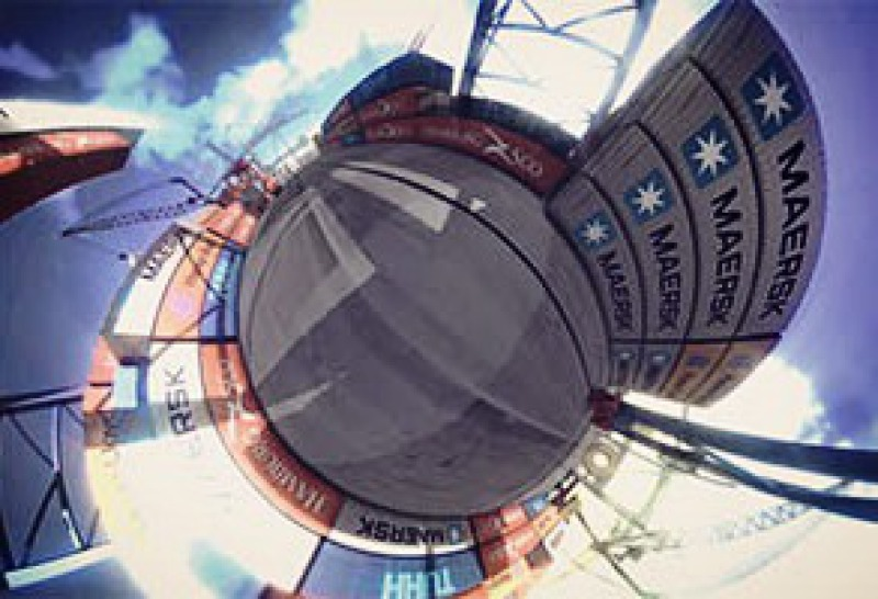 360° Video, Hafen, Rendering, Konzept, mobile VR Applikation